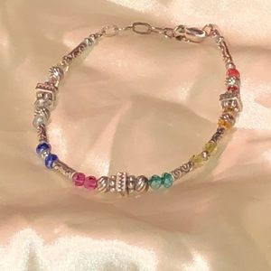 Gorgeous Brighton Swarovski crystal color bracelet